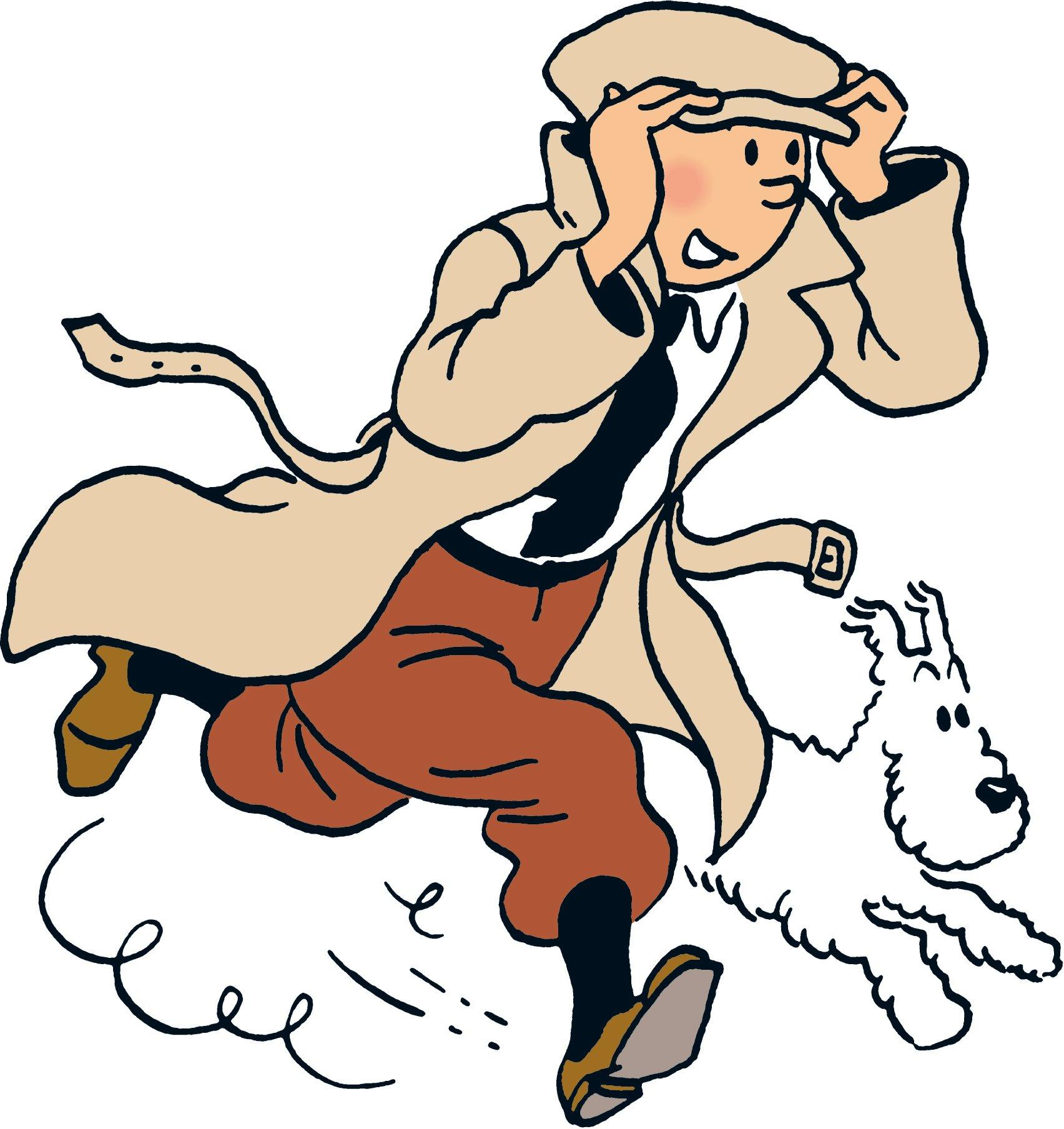 Coloriage tintin et milou imprimer - Tintin gratuit ...