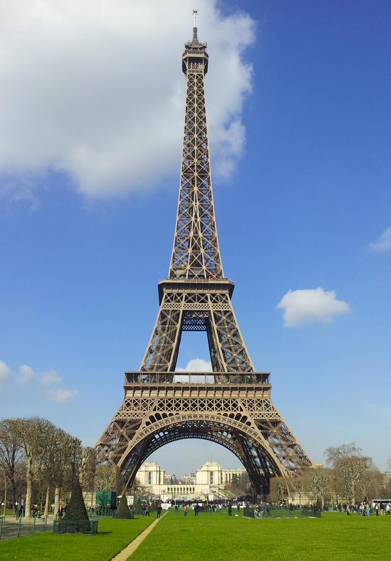 Coloriage Tour Eiffel à imprimer