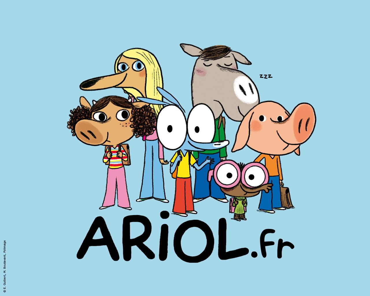 Coloriage ariol imprimer - Ariol dessin anime ...