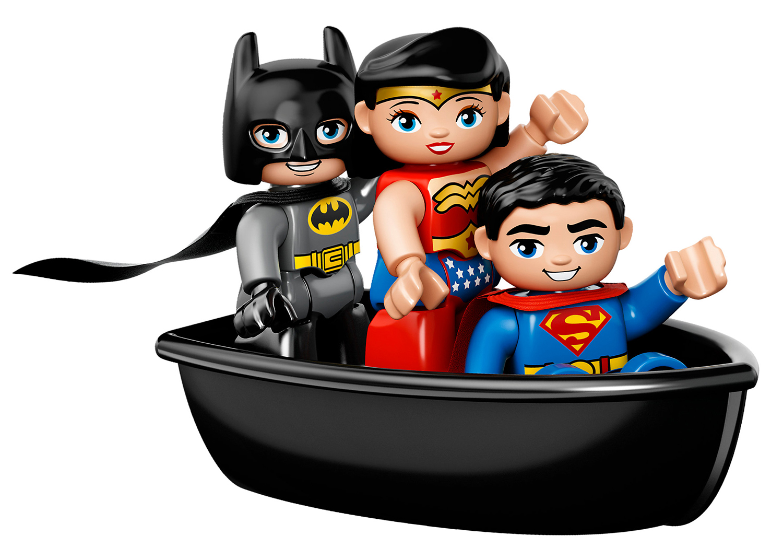 Coloriage Batman Superman lego à imprimer