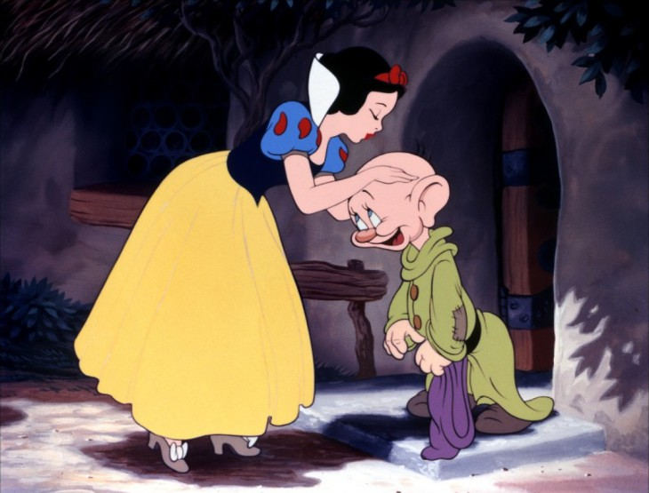 Blanche Neige et nain