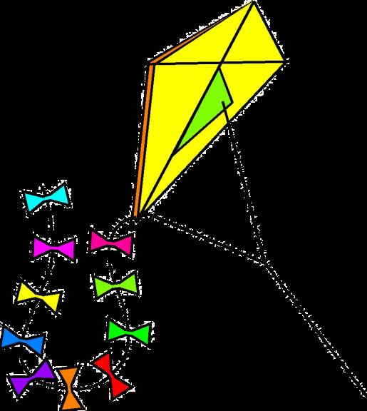 Cerf volant dessin