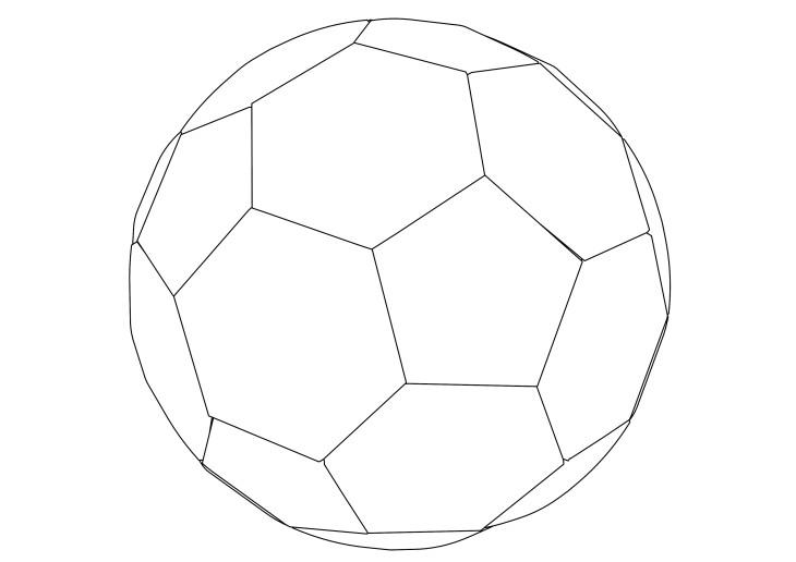 Coloriage ballon de foot imprimer - Image de foot a imprimer ...