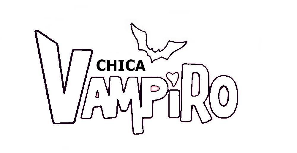 Coloriage Logo De Chica Vampiro A Imprimer