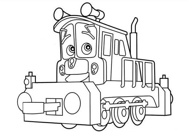 Coloriage chuggington dunbar imprimer - Chuggington dessin anime ...