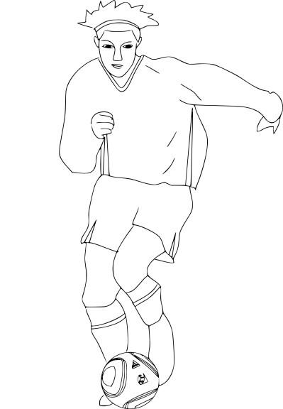 Coloriage C Ronaldo