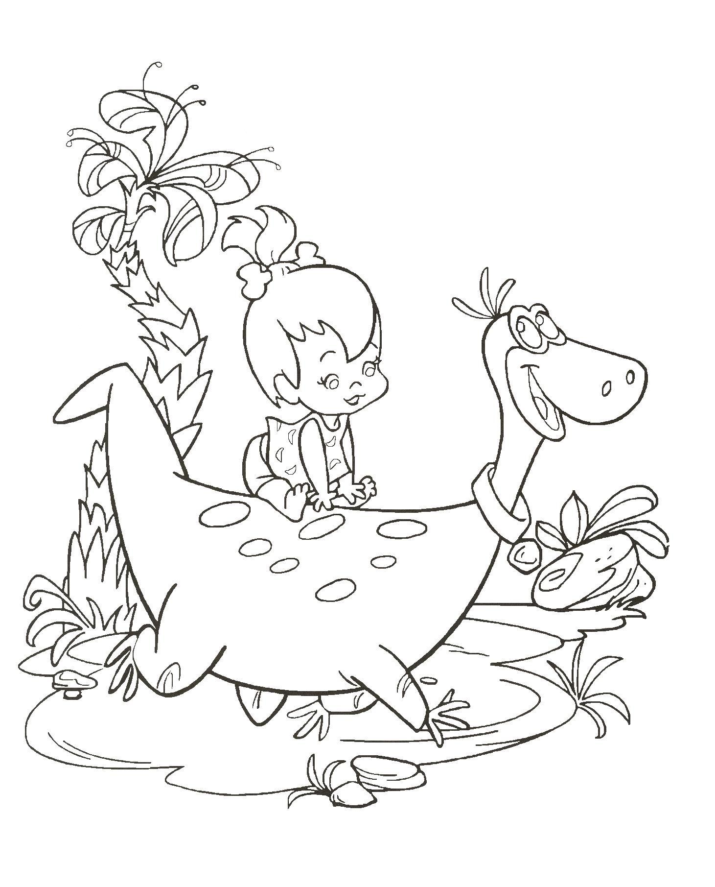Coloriage Dino