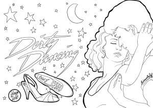 Coloriage Dirty Dancing