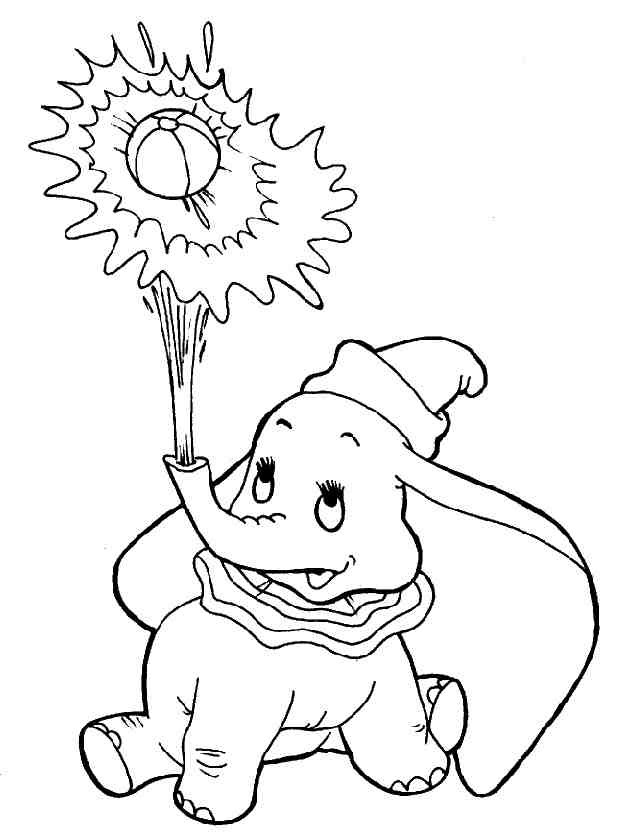 Coloriage Dumbo Disney