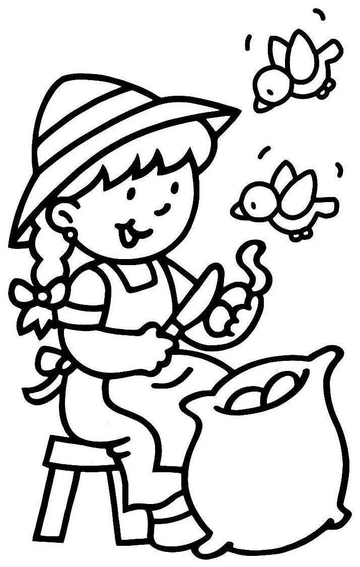 Coloriage pluchure pomme de terre imprimer - Coloriage image ...