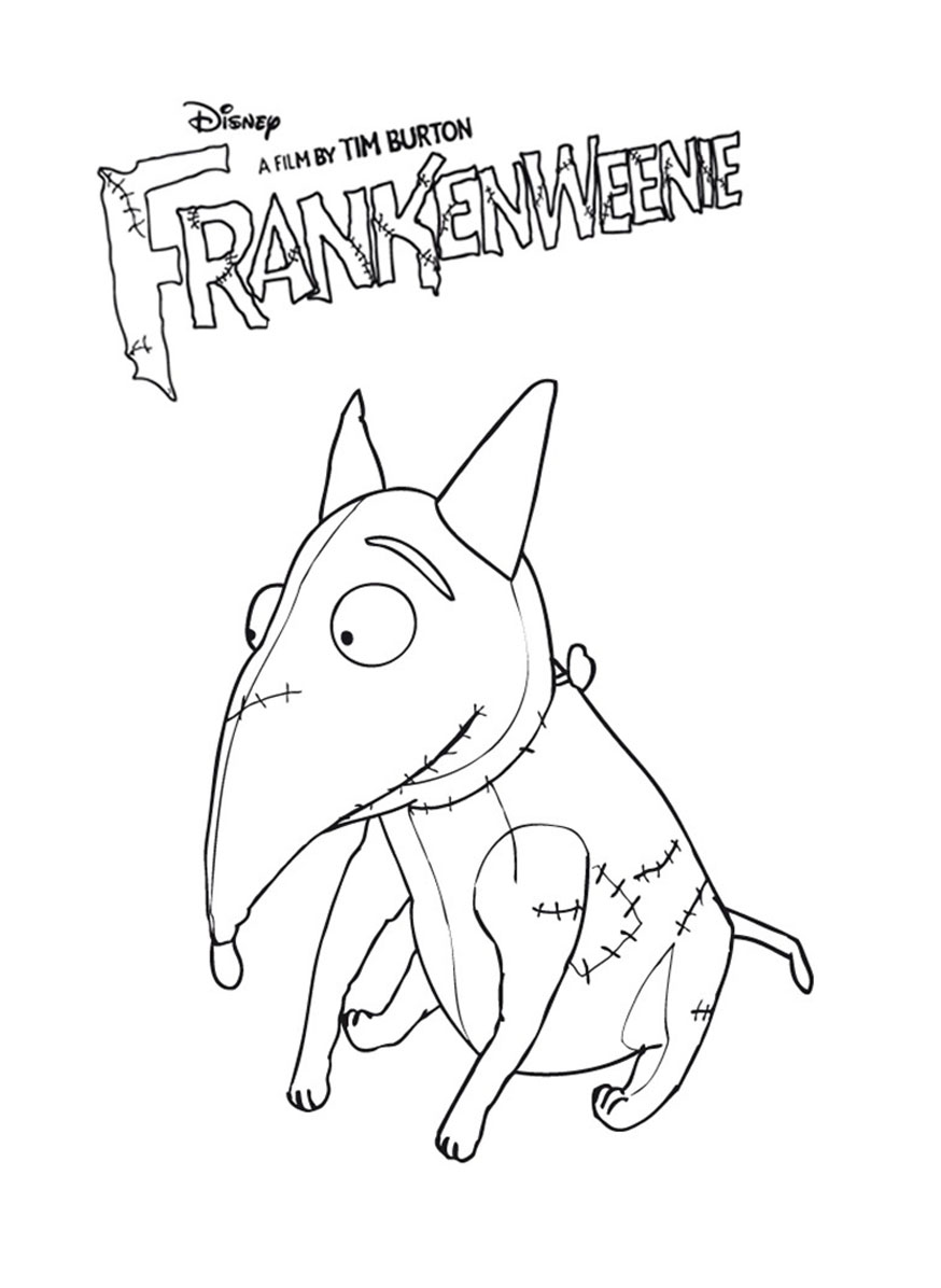 Coloriage Frankenweenie
