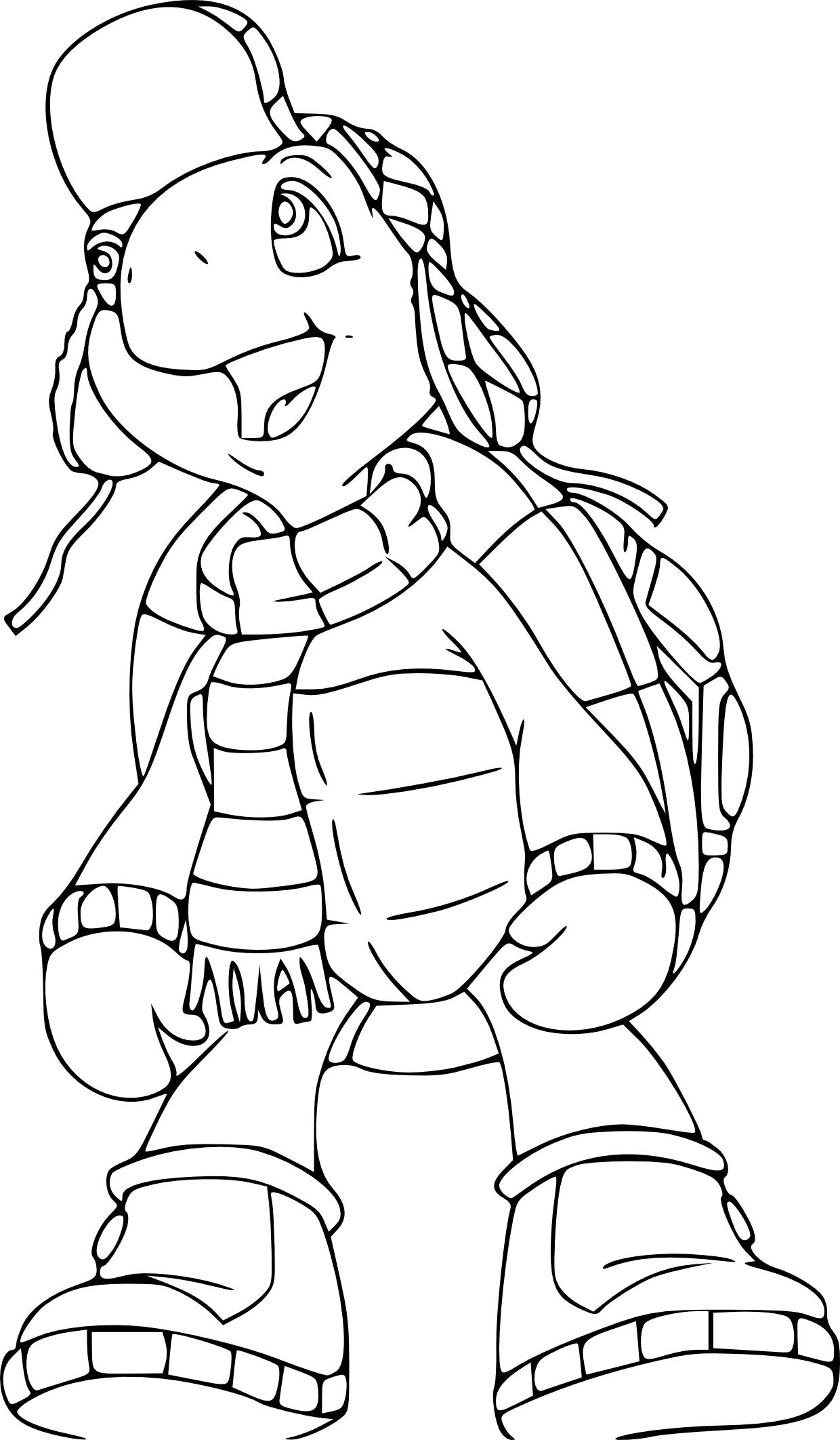 Coloriage Franklin