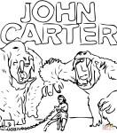 Coloriage John Carter