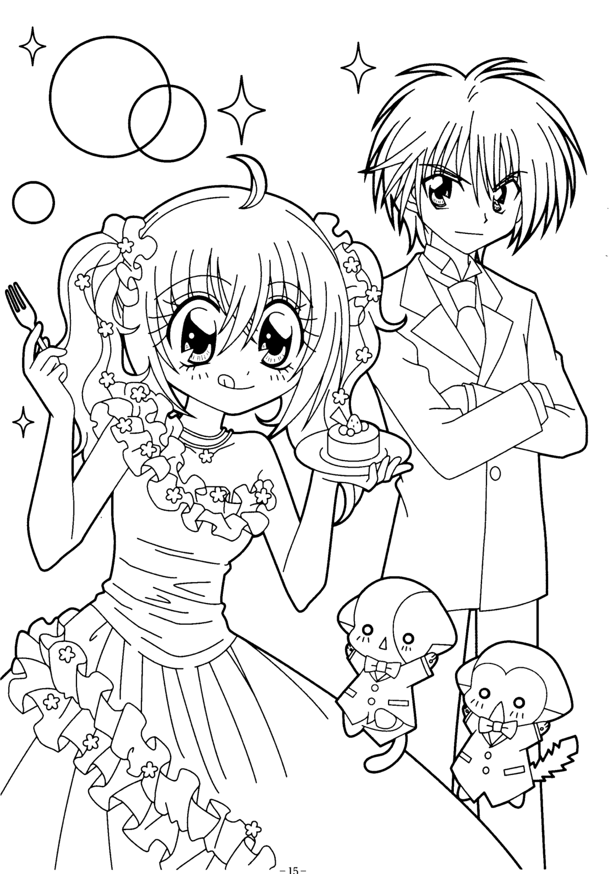 Coloriage Kilari manga