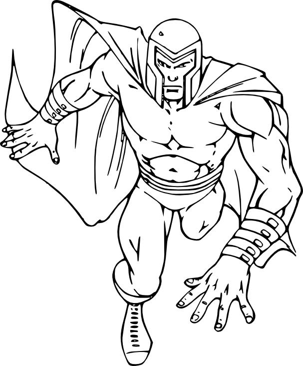 Coloriage Magneto