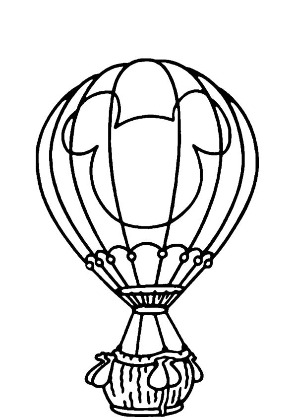 Coloriage montgolfiere disney imprimer - Coloriage montgolfiere ...