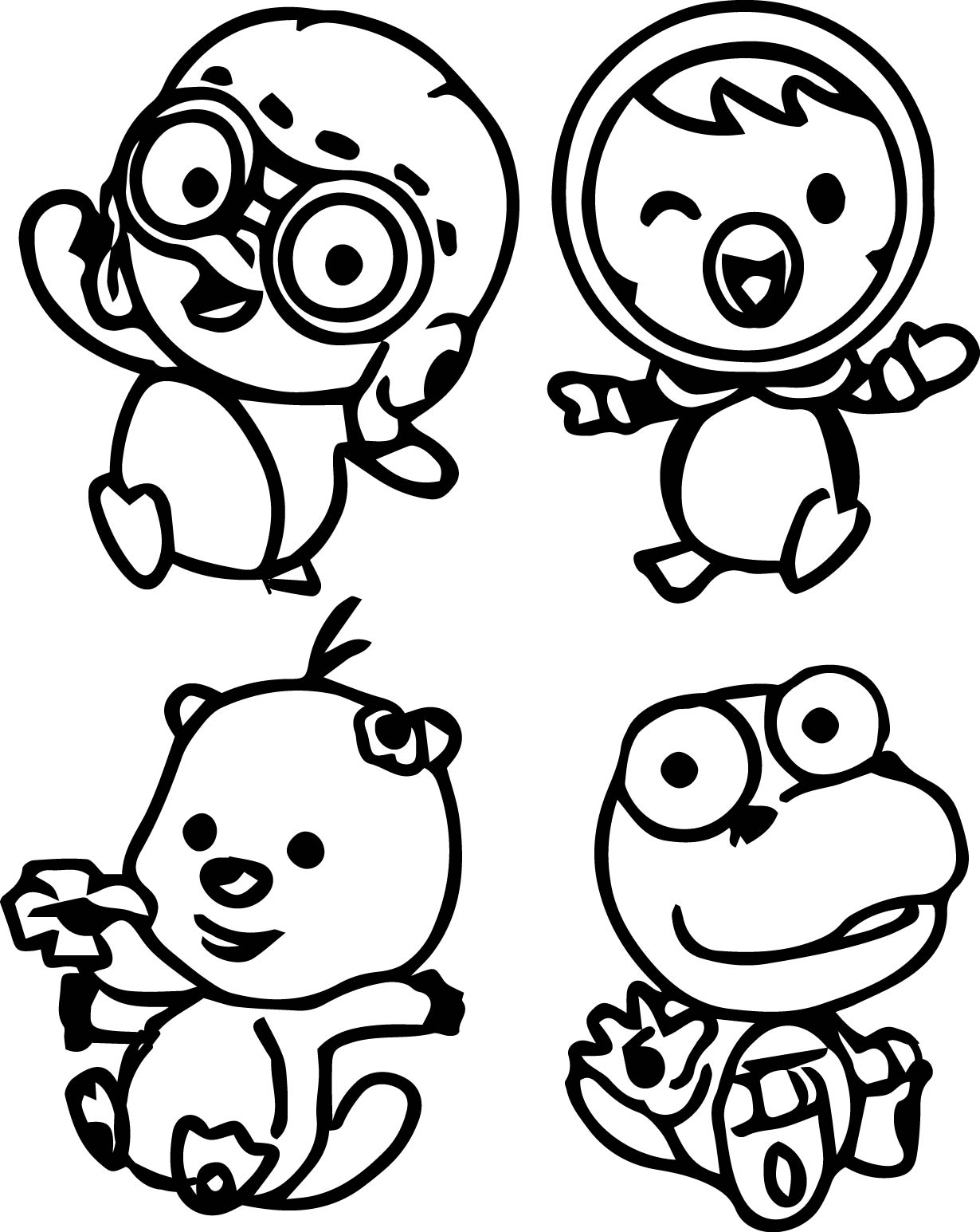 Coloriage personnages Pororo