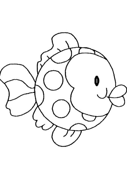 Coloriage poisson d avril imprimer - Dessin poisson d avril rigolo ...