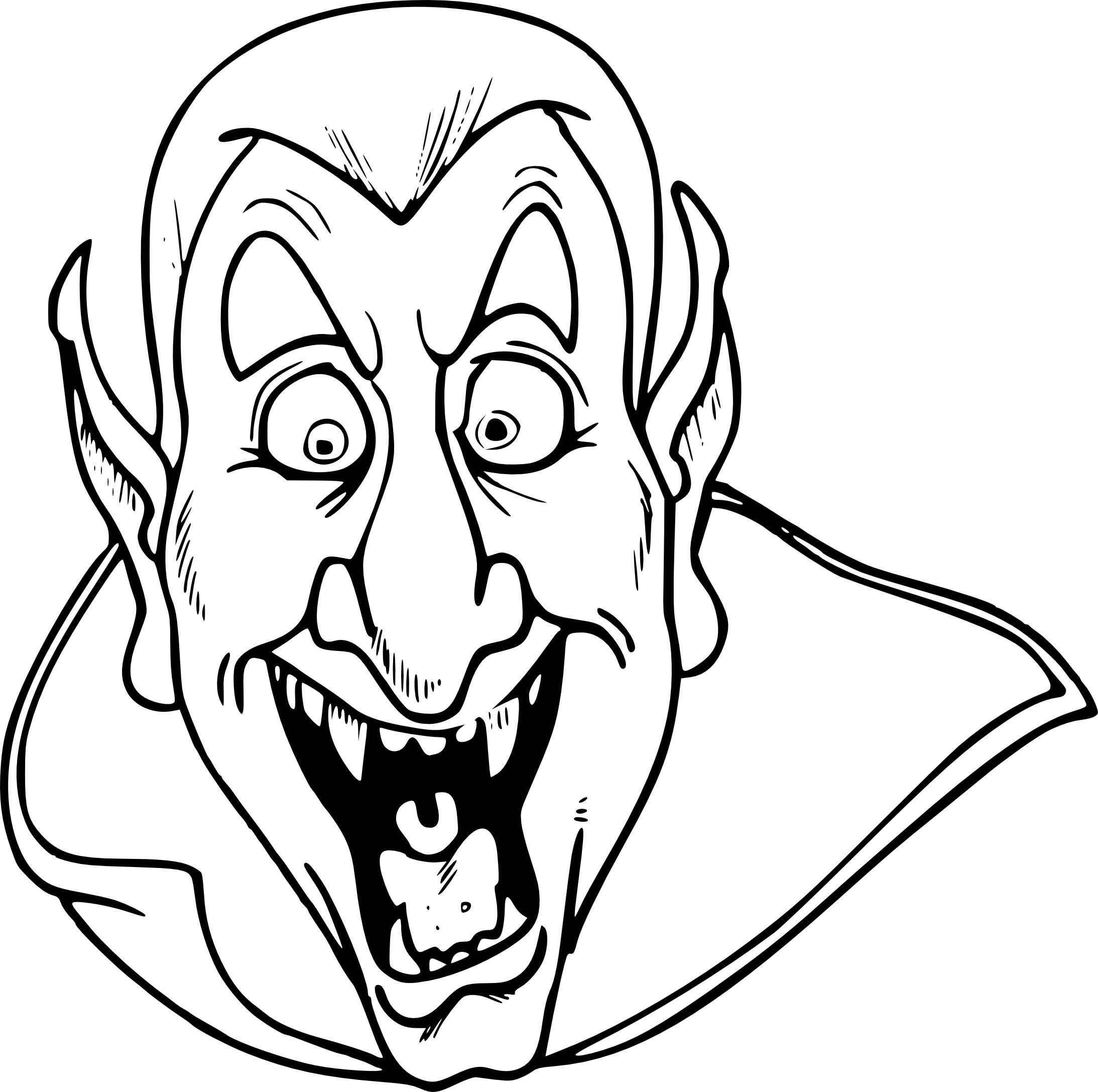Coloriage t te de vampire imprimer - Coloriage de vampire a imprimer ...