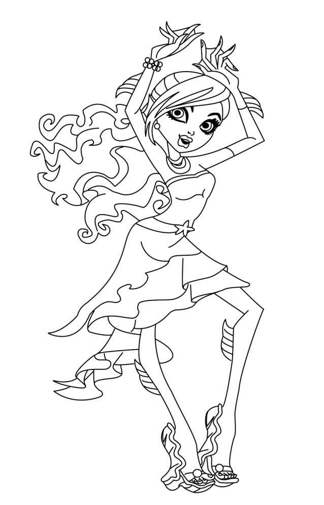 Coloriage vrac monster high imprimer - Vrac coloriage ...