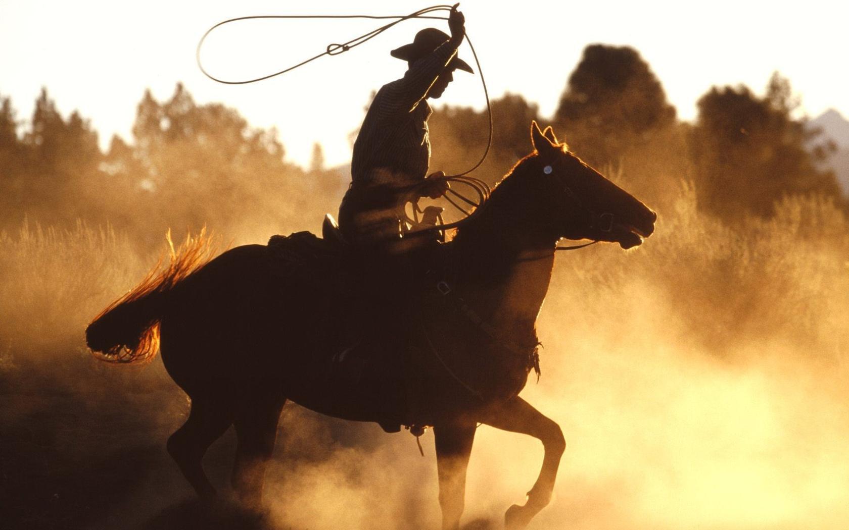Extrêmement Coloriage Cow boy sur son cheval à imprimer UB44