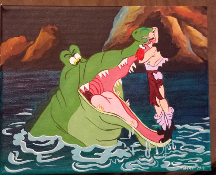 Crochet et crocodile