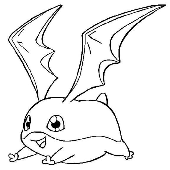 Dessin coloriage Digimon