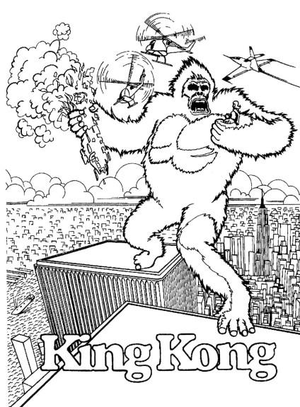 Dessin King Kong