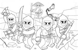 Dessin Ninjago