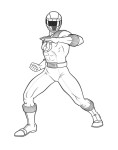 Dessin Power Rangers