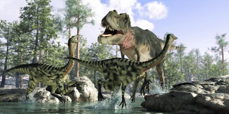 Dinosaure chasse