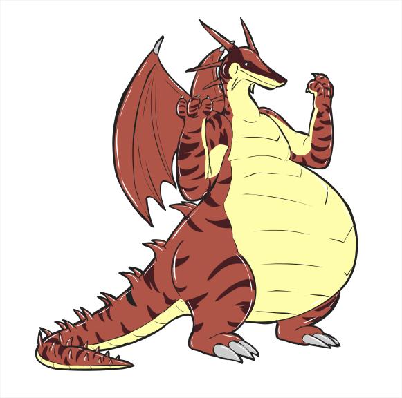 Dragon couleur