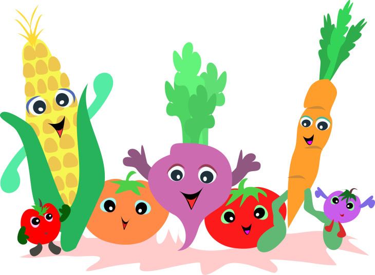 Fruit et legume visage