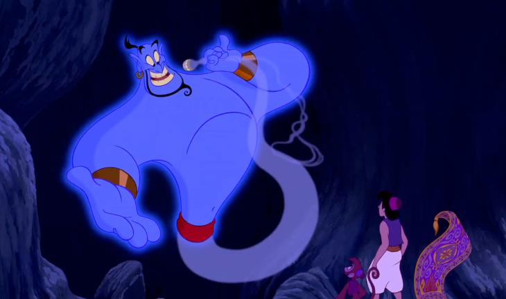 Genie Aladdin dessin