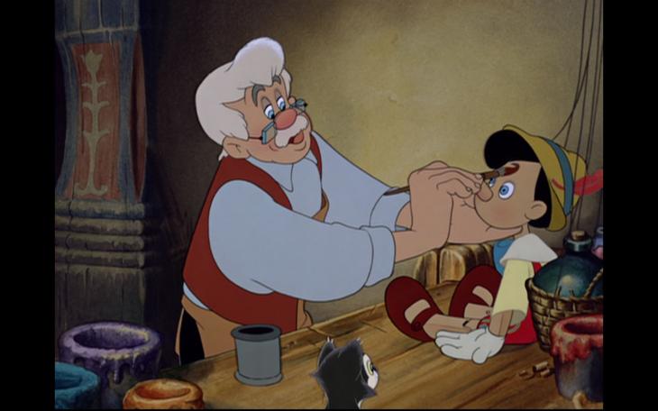 Gepetto et Pinocchio