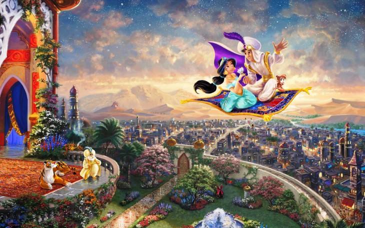 Jasmine Aladdin tapis volant