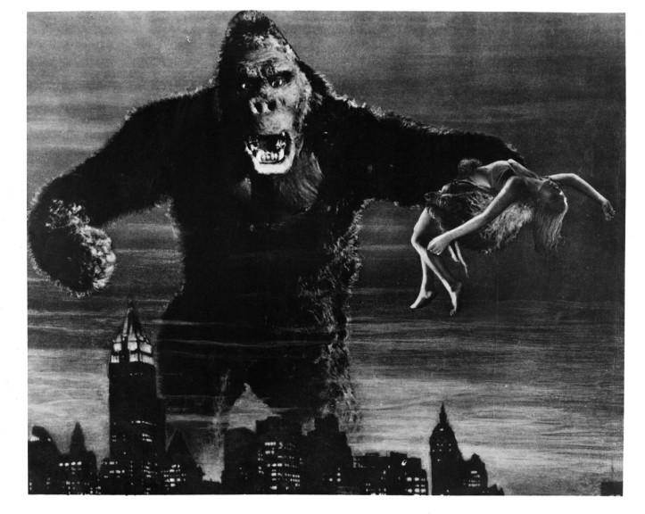 King Kong et une femme