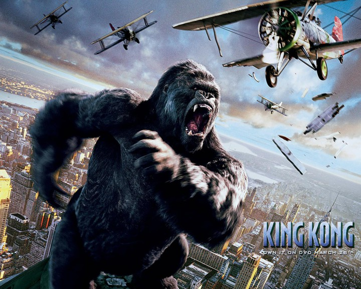 King Kong monstre