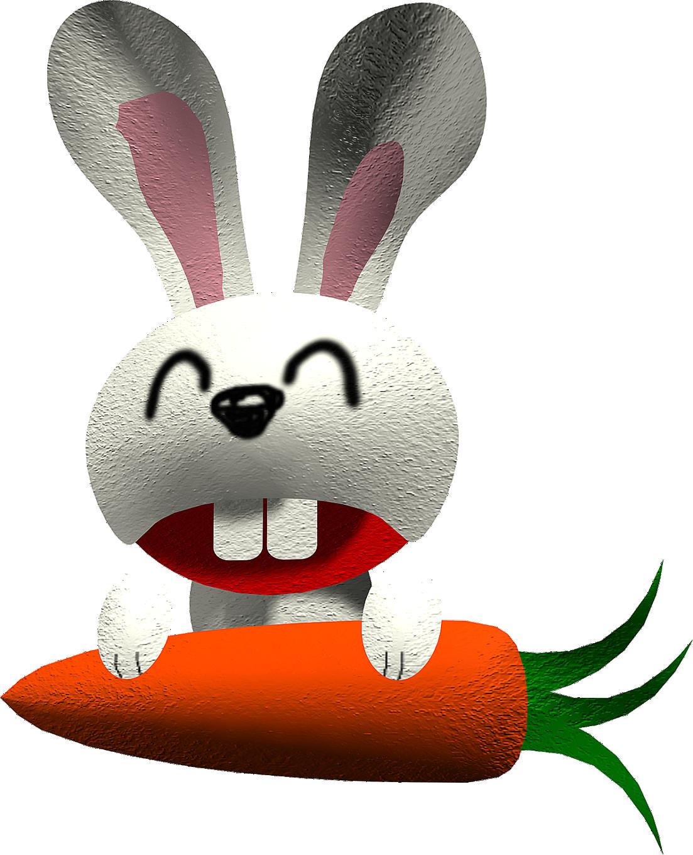 Coloriage lapin carotte imprimer - Photo de lapin a imprimer ...