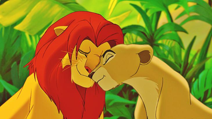 Le Roi Lion et Nala