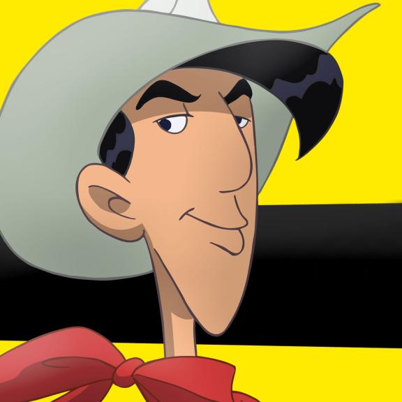 Lucky Luke visage
