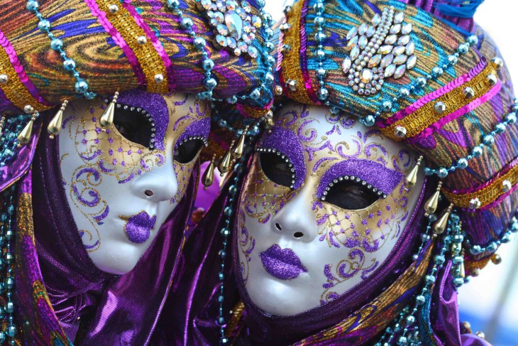 Masque Mardi Gras