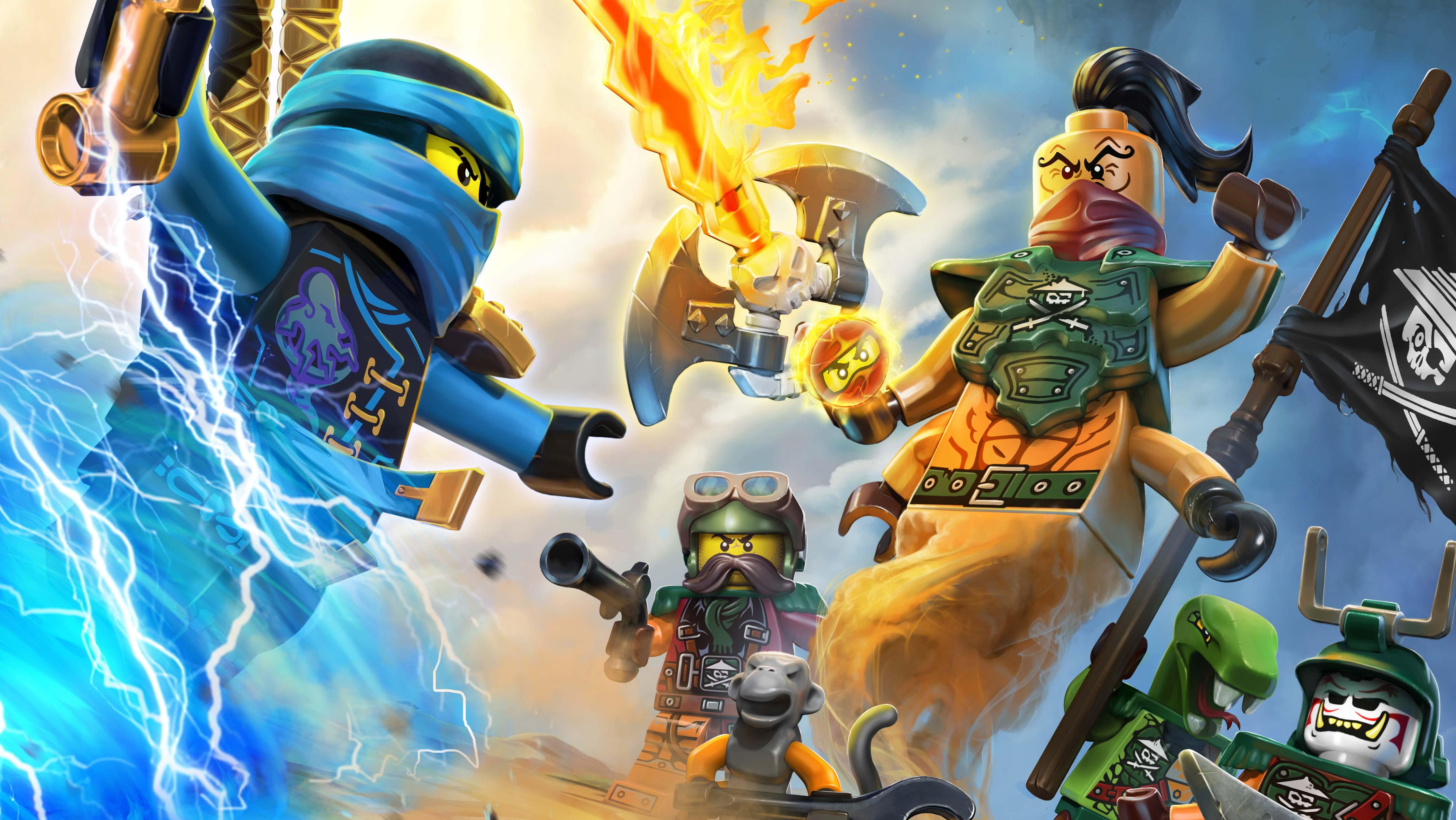 Coloriage ninjago et dessin gratuit imprimer - Ninjago jeux gratuit ...