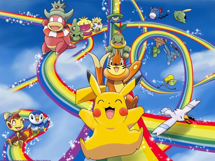 Pikachu Pokemon fond