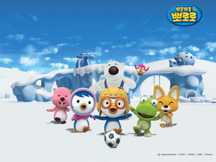 Pororo personnages