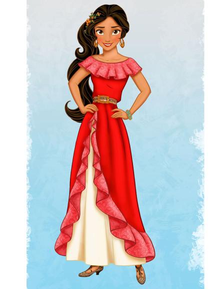 Princesse Disney dessin