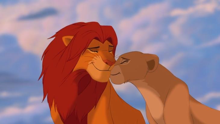 Simba Nala amoureux