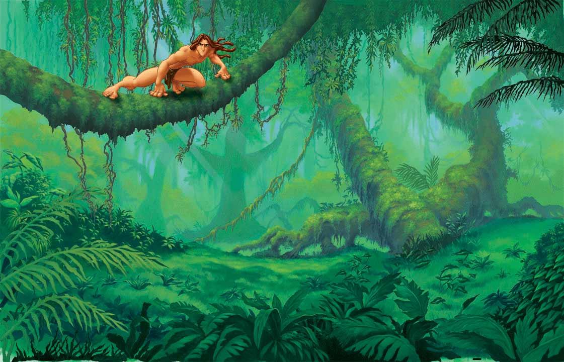 Coloriage Tarzan dans la jungle à imprimer: http://www.coloori.com/coloriage-tarzan-dans-la-jungle/coloriagetarzanjungle/