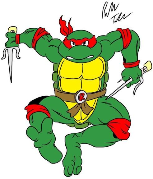 Tortue Ninja dessin