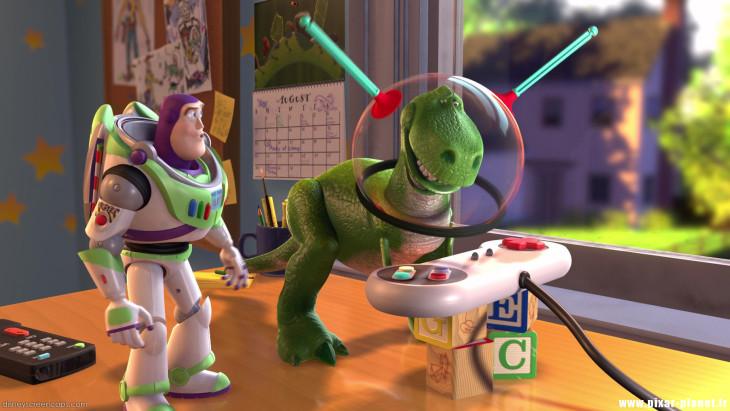Toy Story Buzz Rex